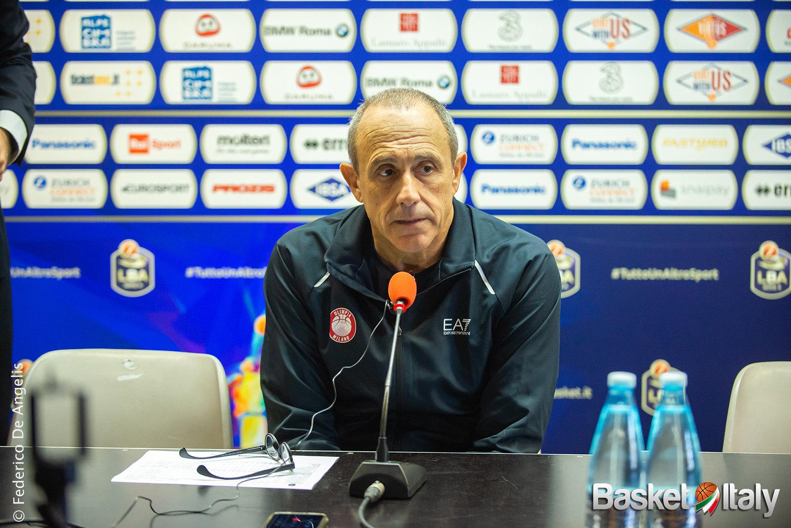 Olimpia Milano – Cantù: le parole dei due coach al termine della gara