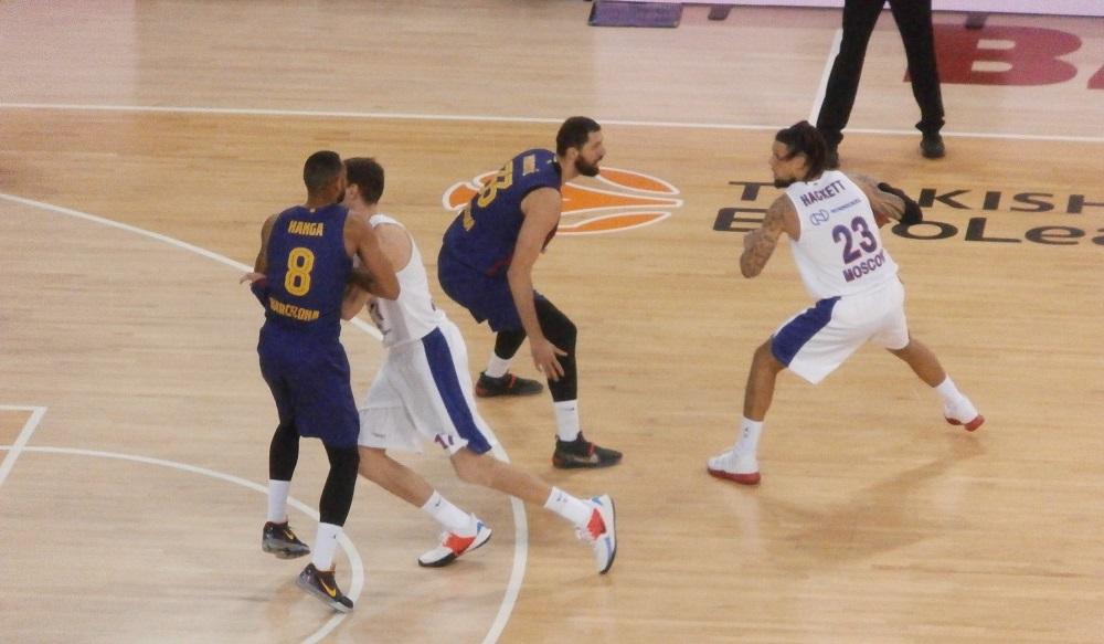 Euroleague: Sorpresa al Palau, il CSKA di Daniel Hackett strapazza il Barça