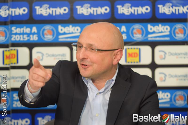 """7 DAYS EuroCup – Trento, il GM Trainotti: """"Cercheremo di competere al massimo come sempre"""""""