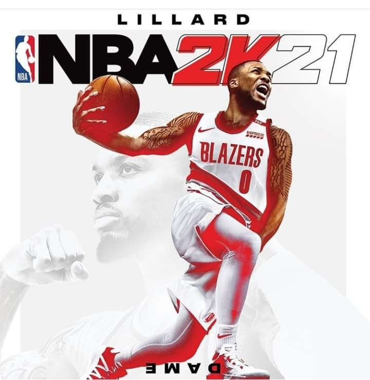 Damian Lillard è l'uomo copertina di NBA 2K21