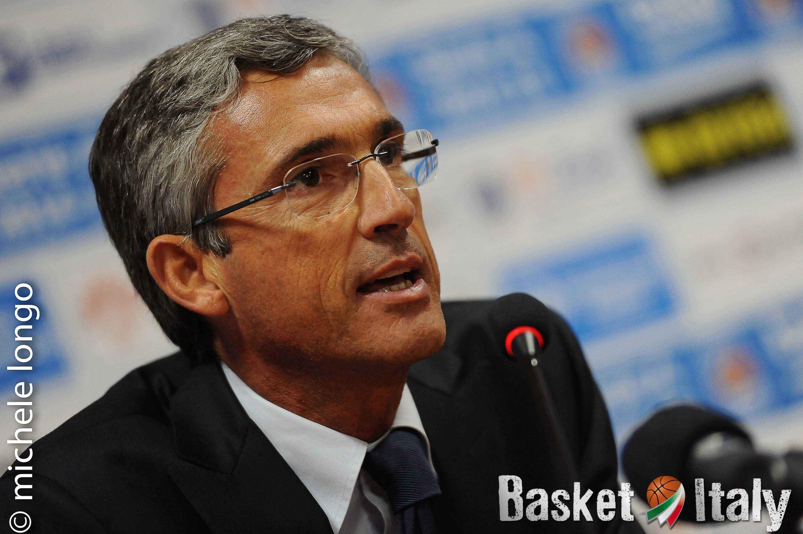 """Brindisi. Fernando Marino: """"Non sappiamo se partiremo per Burgos, ce lo comunicherà la FIBA"""""""
