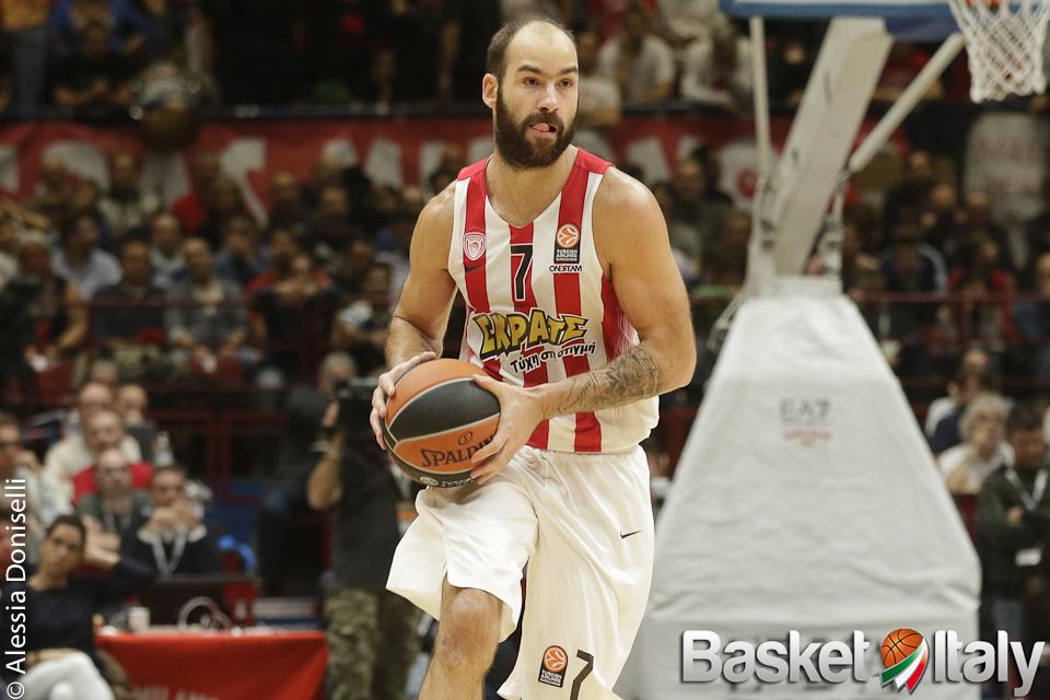 "Olympiacos: rinnovo annuale per ""Kill Bill"" Vassilis Spanoulis"