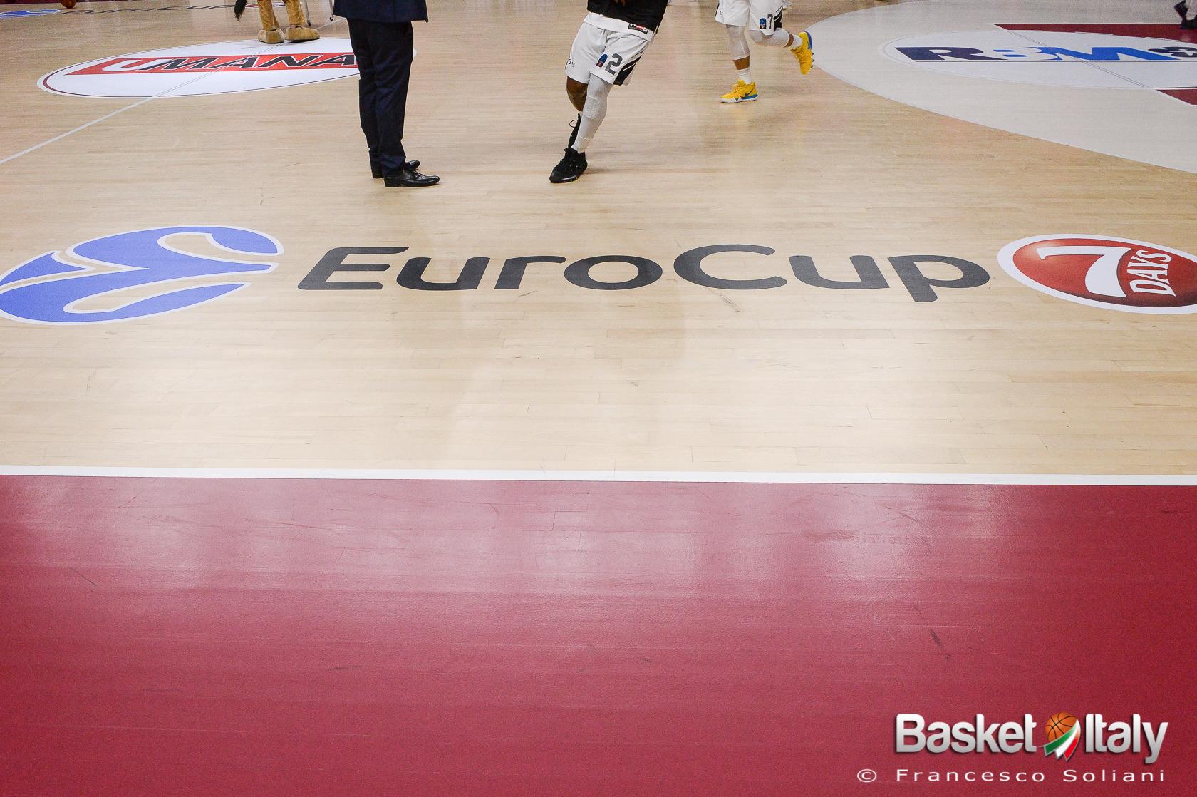 Venerdì il sorteggio della stagione regolare di EuroCup. Trento, Virtus Bologna, Venezia e Brescia in attesa