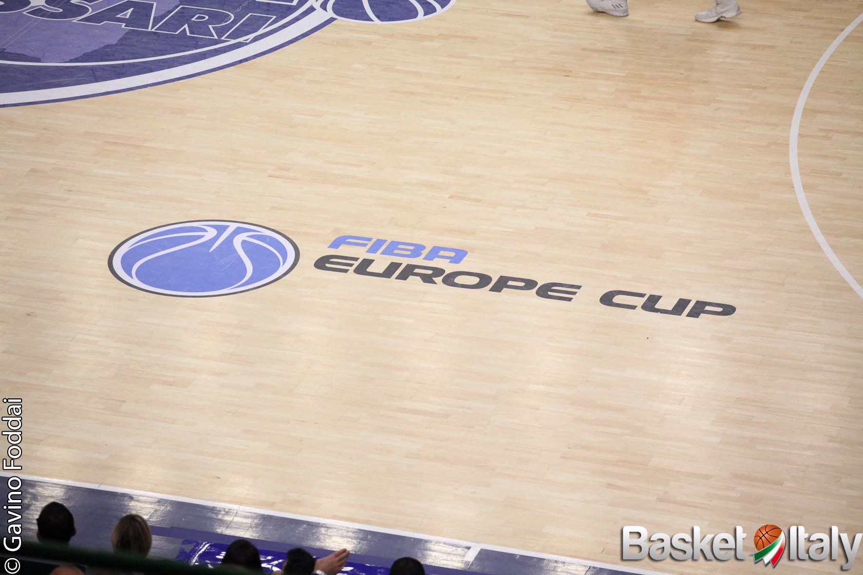 FIBA Europe Cup: annunciati i team partecipanti, sorteggio il 18 agosto