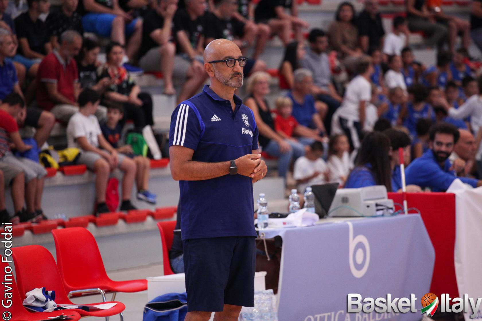 """Brindisi, coach Vitucci è contento dei suoi: """"Dai match con Sassari indicazioni utili"""""""