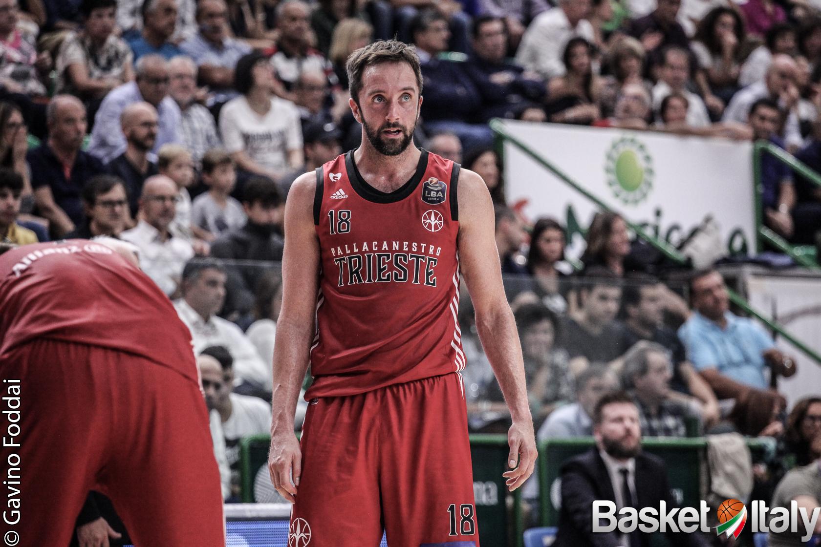 """Pallacanestro Trieste. Daniele Cavaliero: """"Io e la squadra abbiamo dei sogni importanti"""""""