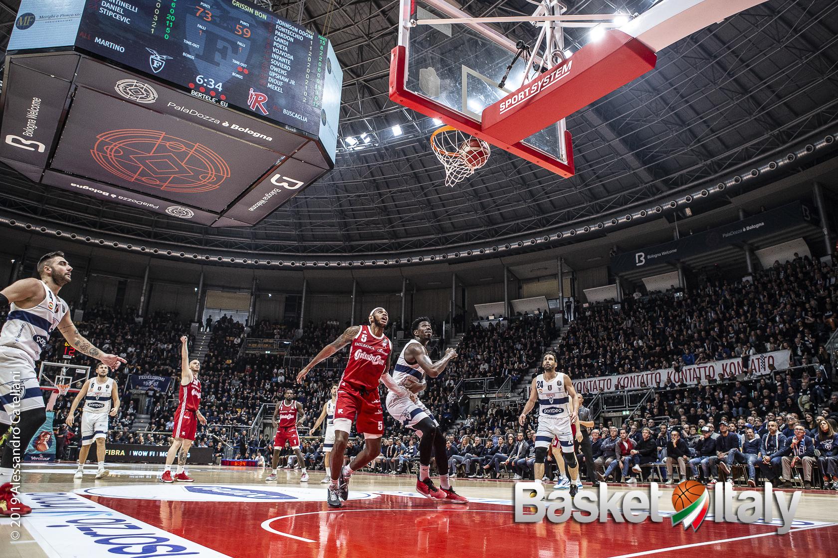 Deroga dell'Emilia Romagna: capienza al 25% per le eliminatorie della Eurosport Supercoppa