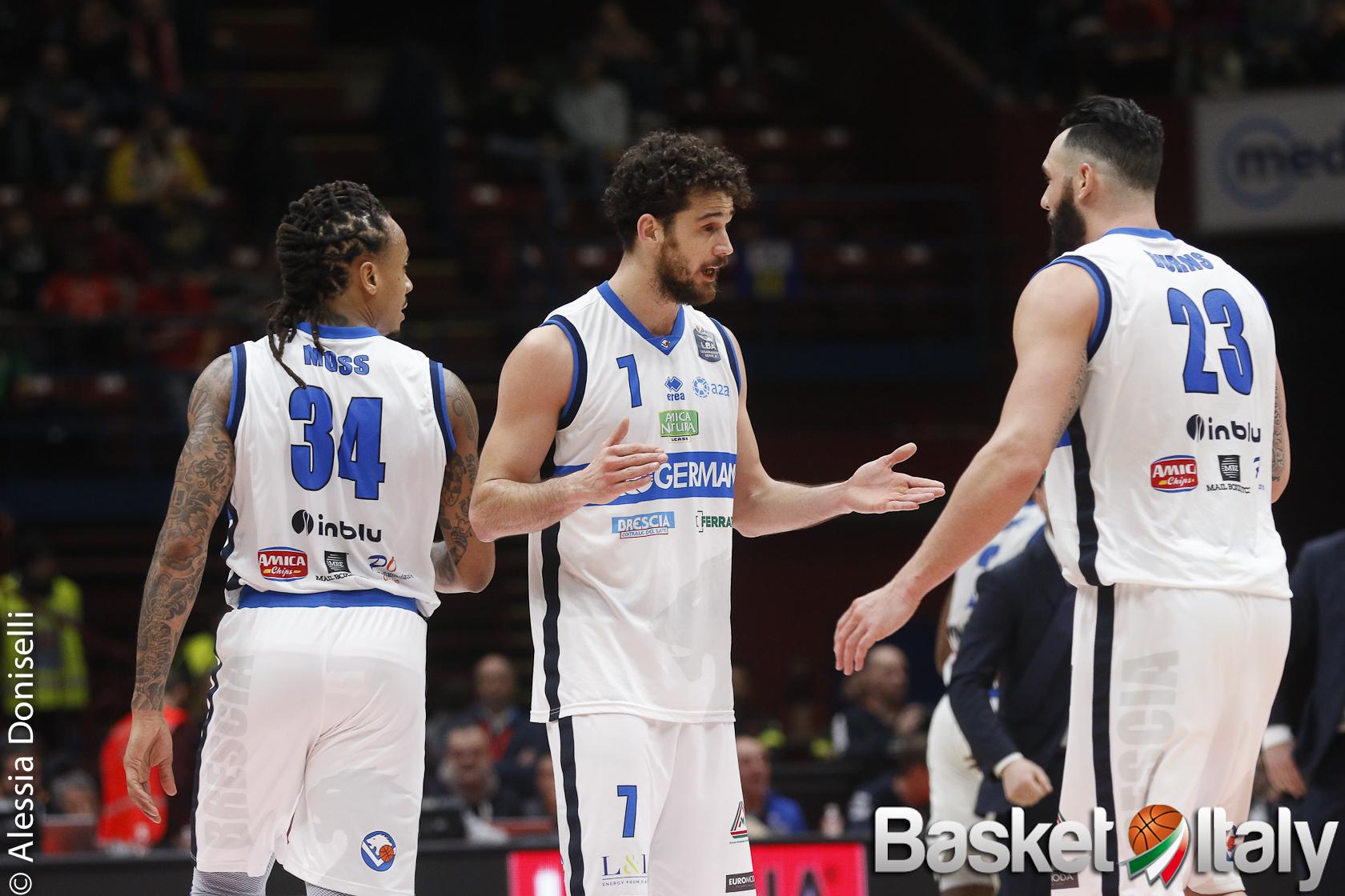 EuroCup – Brescia rimonta un brutto primo quarto, ma a Malaga è crollo negli ultimi 10 minuti