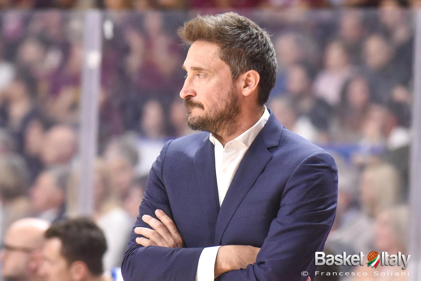 """Gianmarco Pozzecco: """"Oggi non posso essere ottimista, la situazione della pallacanestro è drammatica"""""""