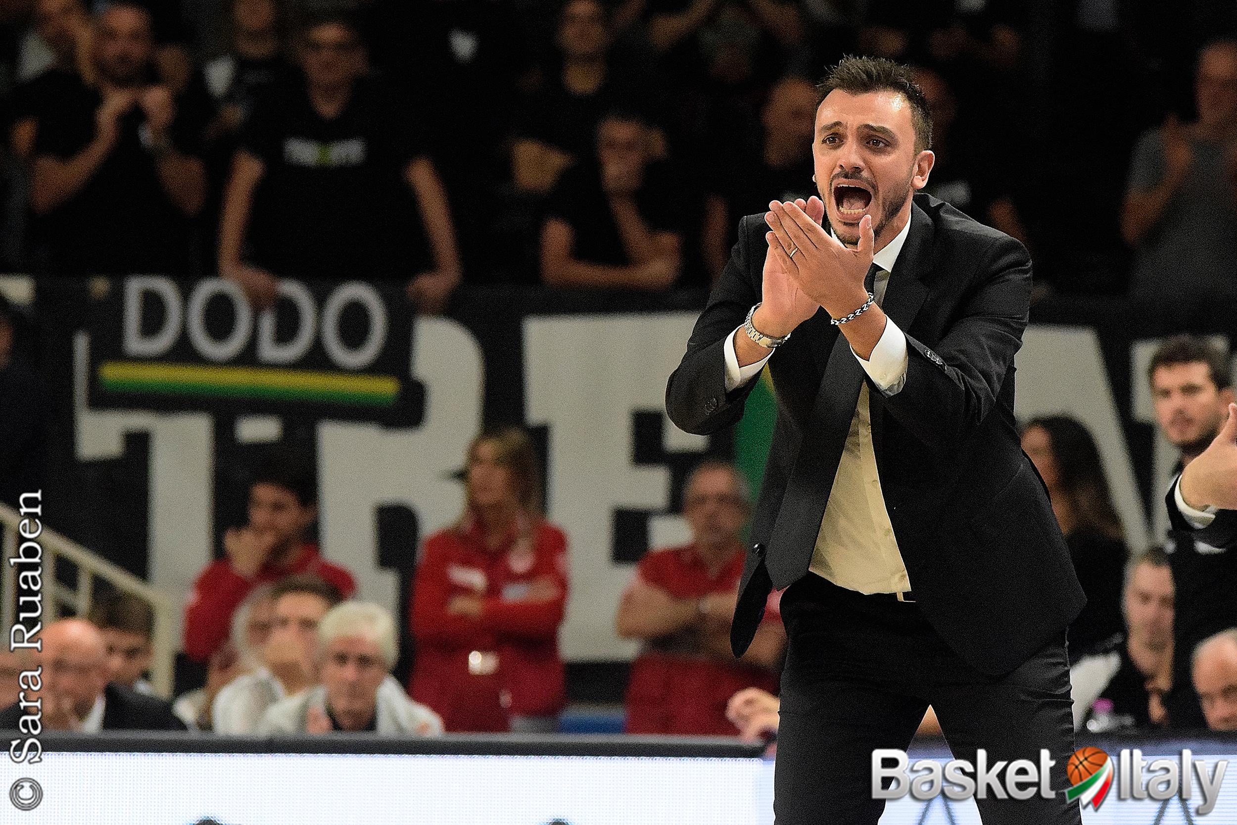 #LBA2021 – Trento riparte da coach Brienza e dal blocco italiano