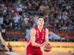 kaleb tarczewski Olimpia Milano