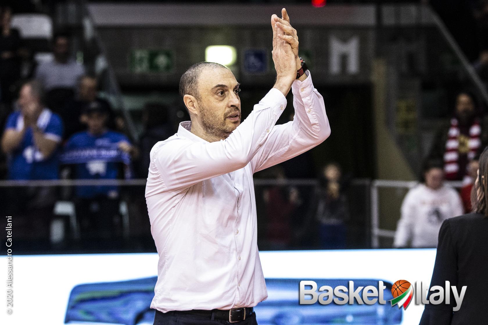 """Eurocup – Brescia, coach Esposito: """"Lottato per 40 minuti. Così per riconquistare fiducia in noi stessi"""""""