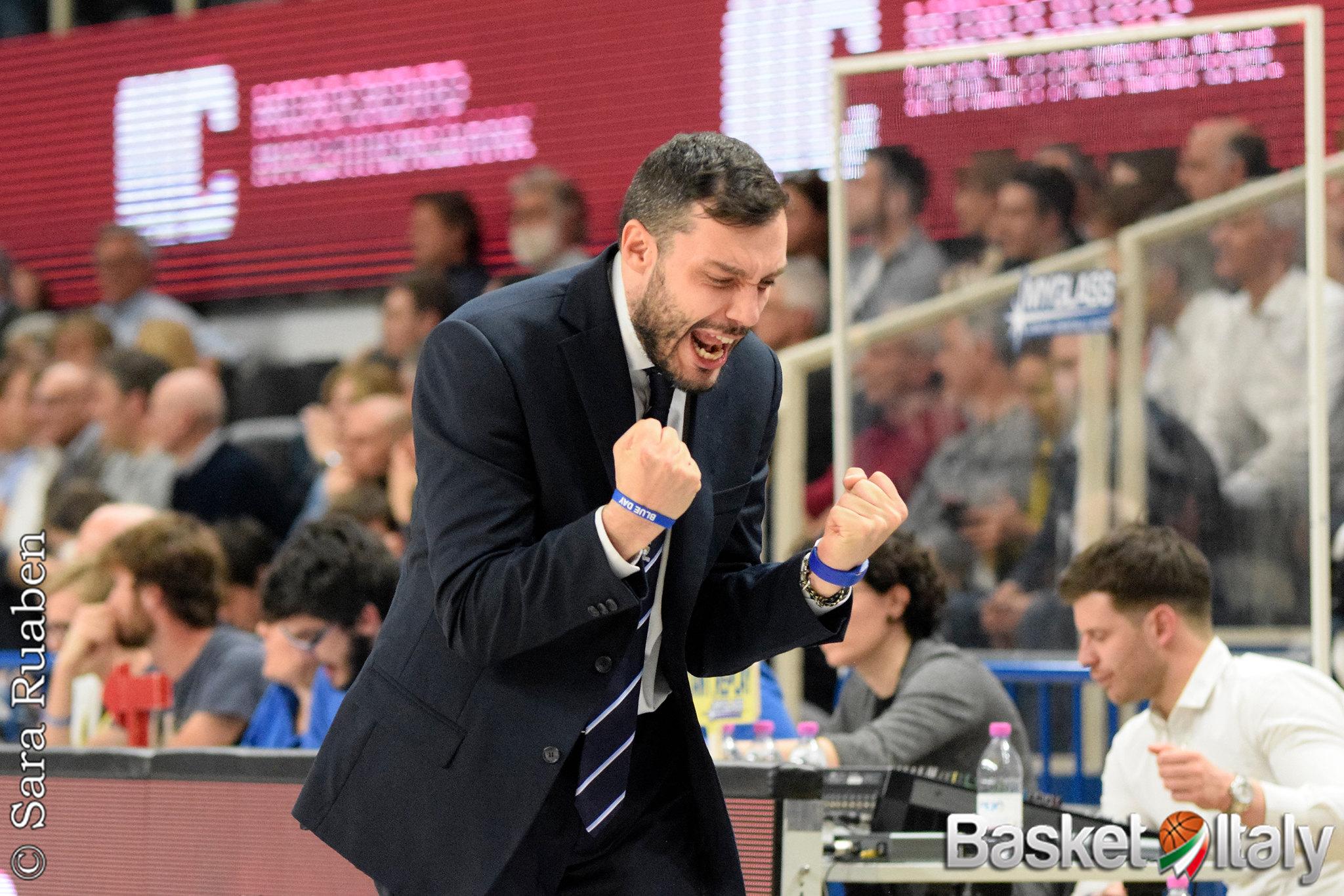 Vanoli Cremona, ufficiale il rinnovo di coach Paolo Galbiati sino al 2023
