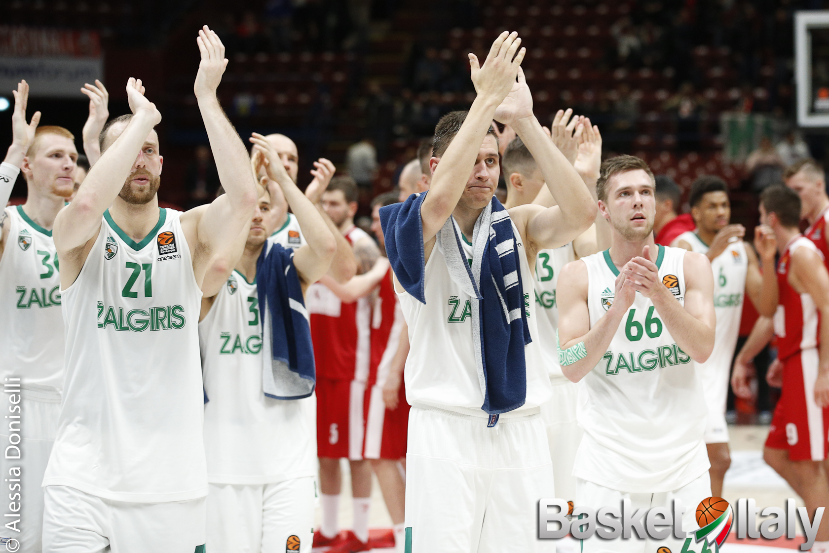 #Euroleague- Lo Zalgiris ritorna alla vittoria, battendo a domicilio il Panathinaikos per 69-81