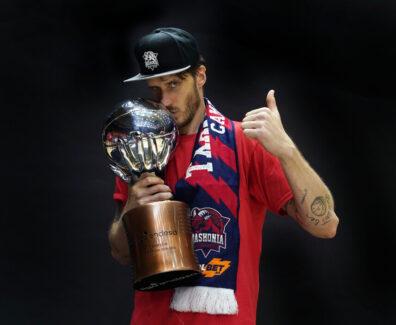Achille Polonara. Valencia, 2020-06-30