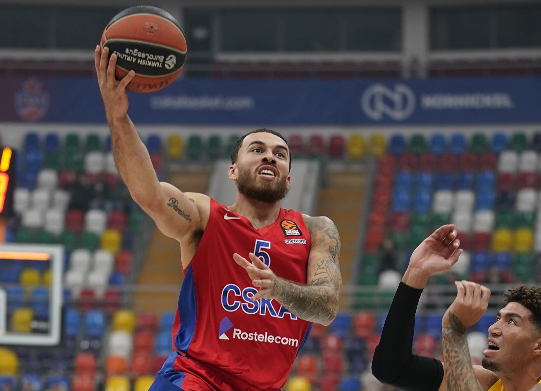 #Euroleague2021: Il CSKA di Daniel Hackett lotta e batte il Maccabi