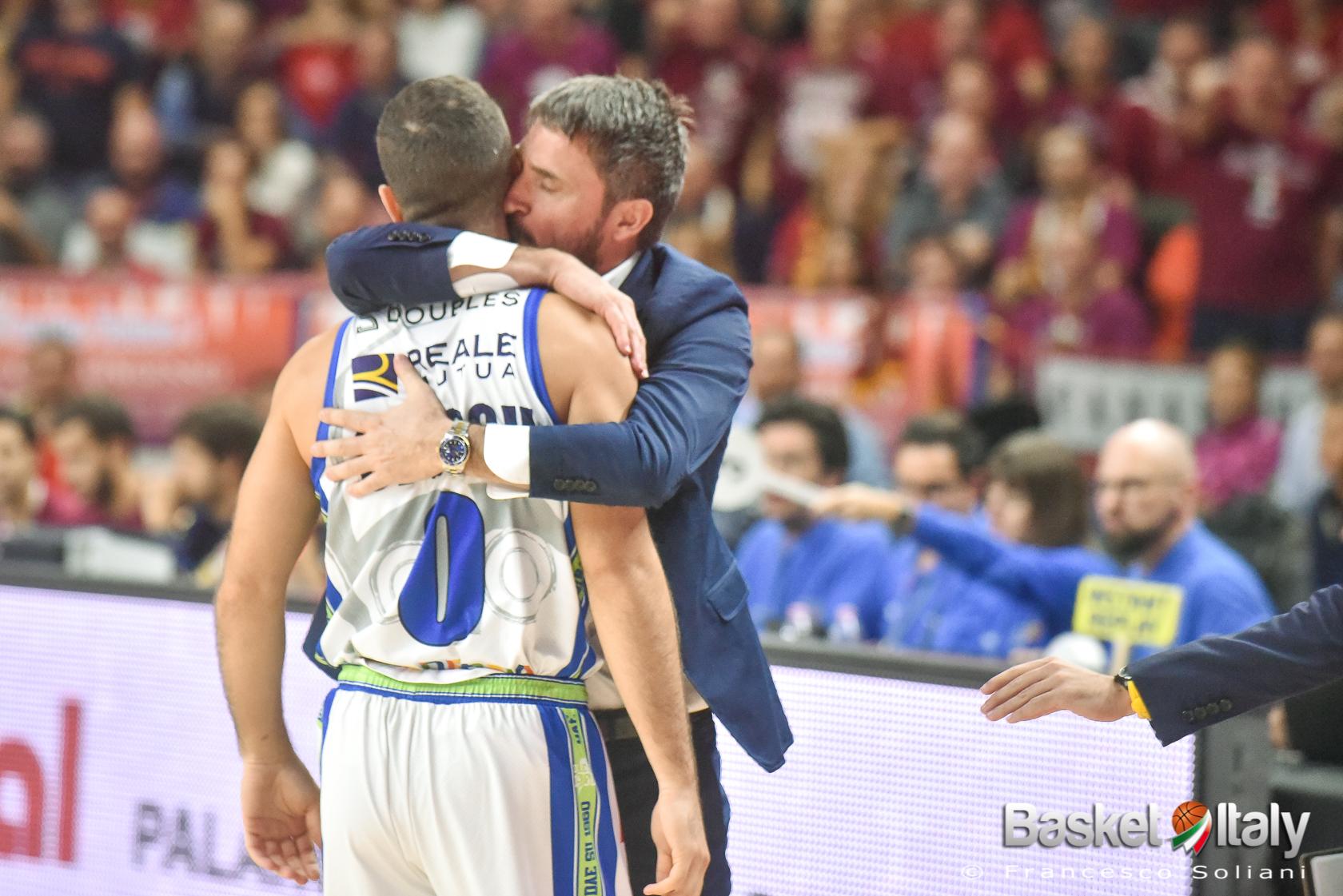 """Marco Spissu: """"Con coach Pozzecco rapporto fantastico, mi sento in debito con lui"""""""