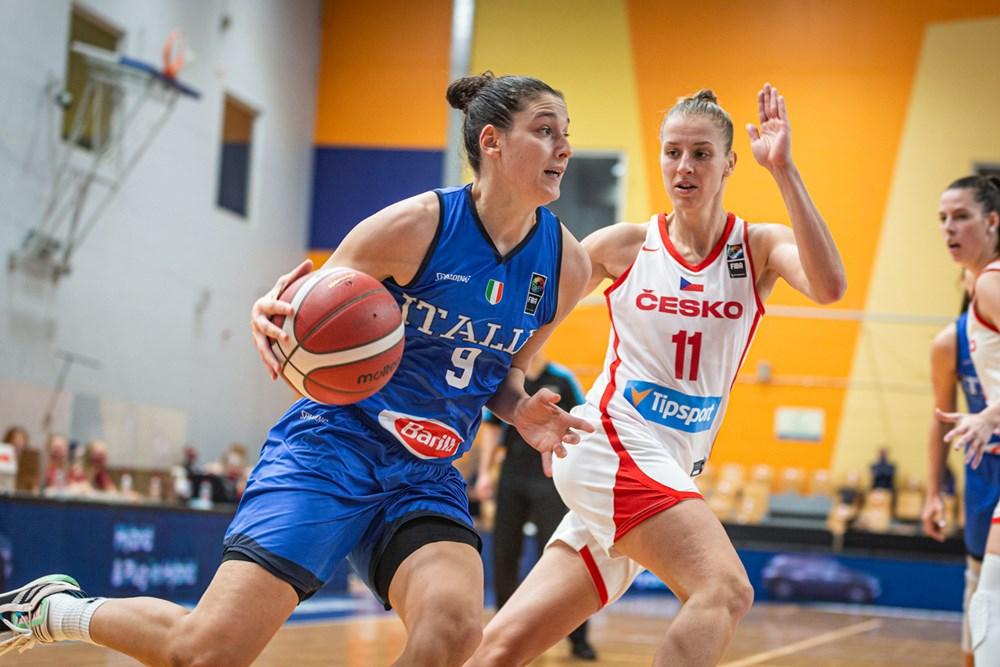 #Italbasket donne: Una splendida Italia batte anche la Repubblica Ceca