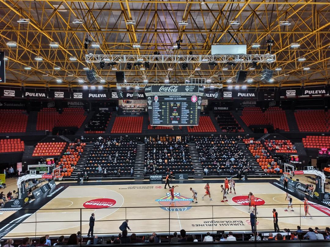 #Euroleague2021: L'Olimpia Milano cade per la prima volta a Valencia