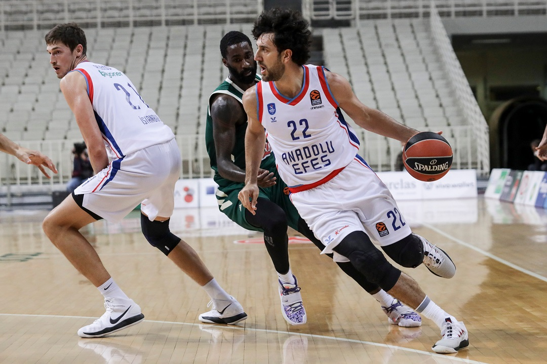 #Euroleague: Vittoria casalinga dell'Efes sull'Asvel