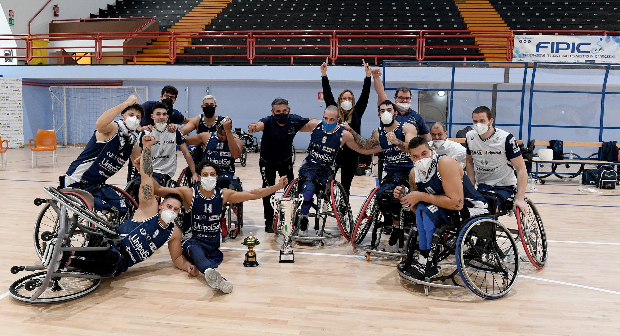 Basket in carrozzina: Briantea84 e Santo Stefano ancora contro nelle finali scudetto
