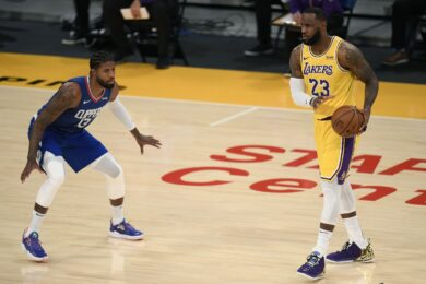 Paul George Clippers – LeBron James Lakers