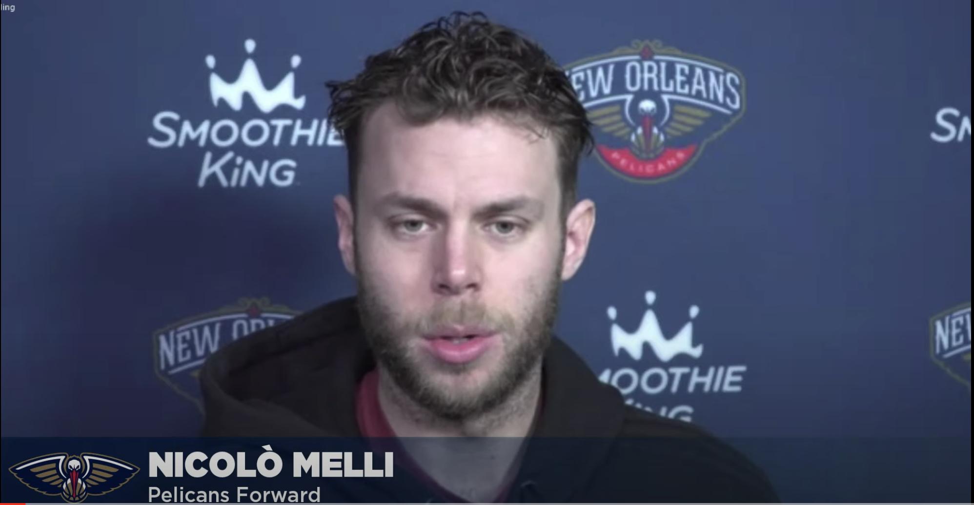 NBA – Nicolo' Melli sulla nuova stagione dei Pels, sul Beli e sul COVID