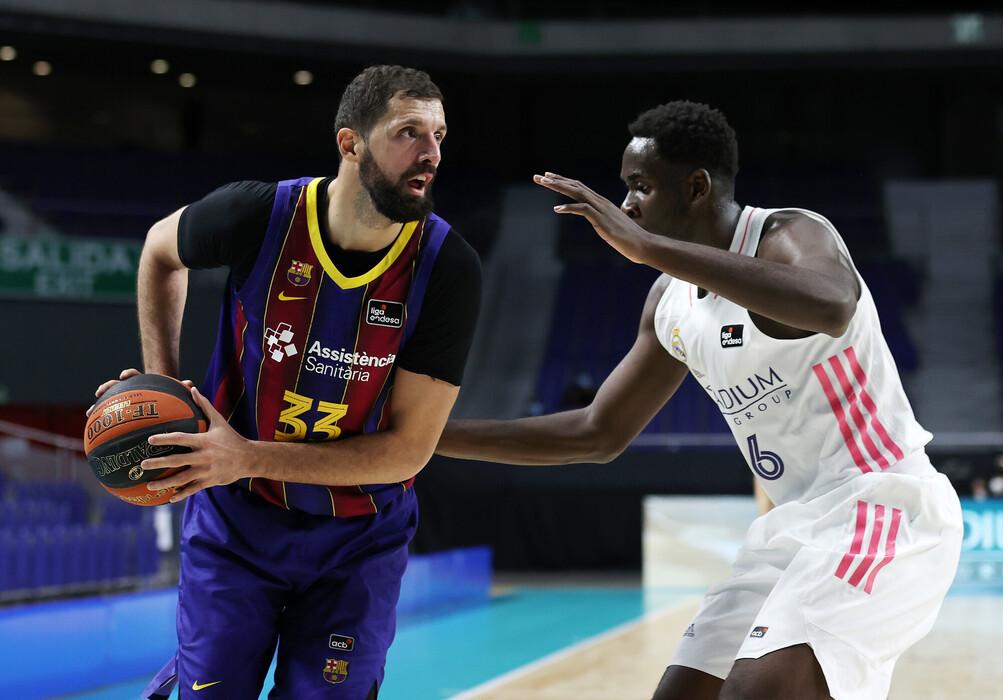 EuroLeague – La capolista Barcelona fa suo El Clásico, il Real Madrid cede nel finale