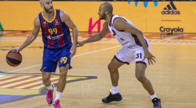 Shavon Shields Nick Calathes, Barcellona, 2020-11-12