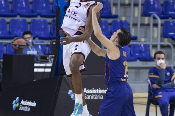 Zach Leday, Barcellona, 2020-12-11