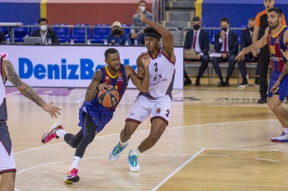 Zach Leday Cory Higgins, Barcellona, 2020-12-11