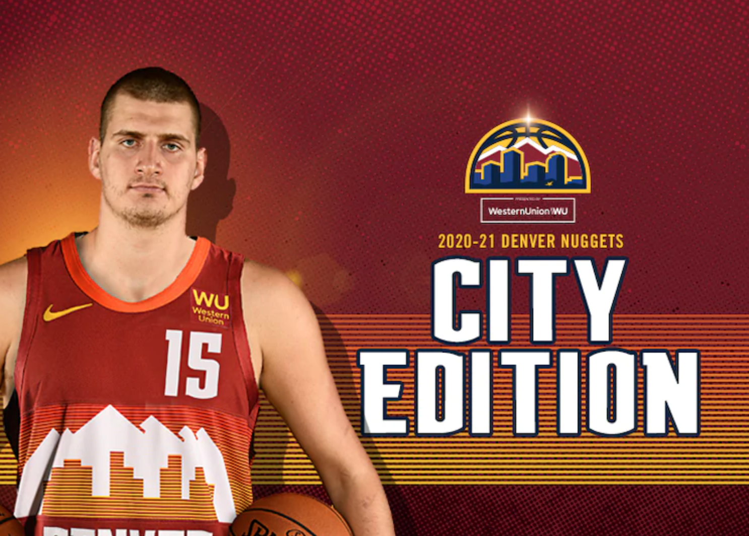 Divisa Denver Nuggets- City edition 2021