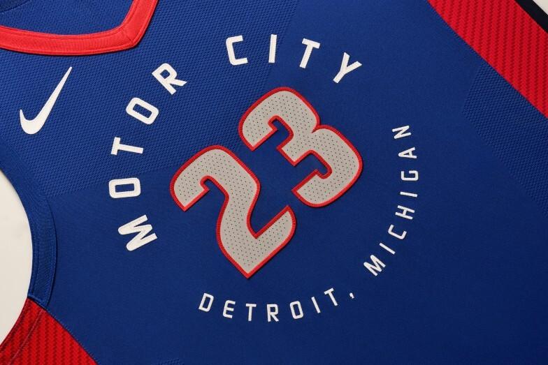 Canotta Detroit Pistons - City edition 2021