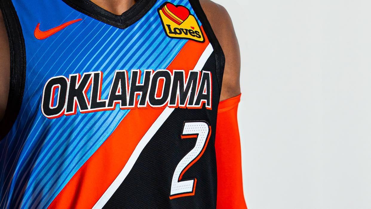 Oklahoma City Thunder - City edition 2021