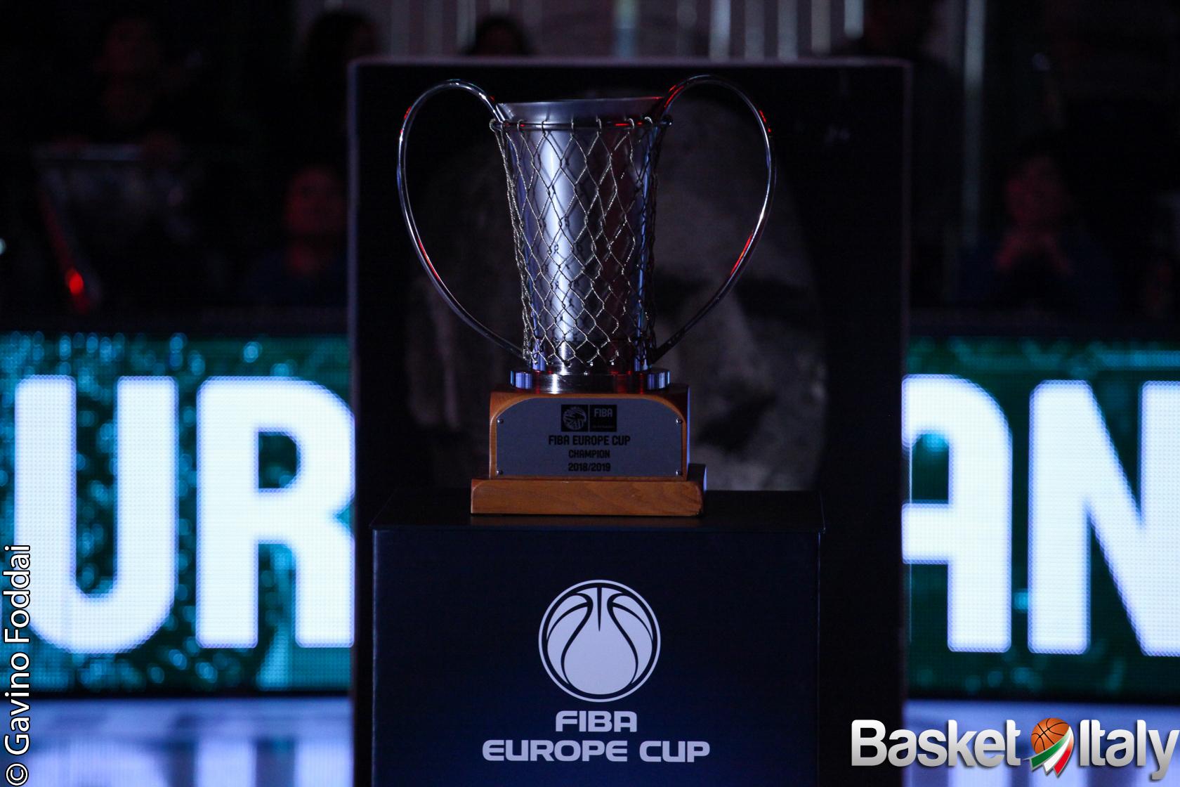 FIBA Europe Cup: 33 squadre iscritte, c'è anche la Reggiana (già in regular season)