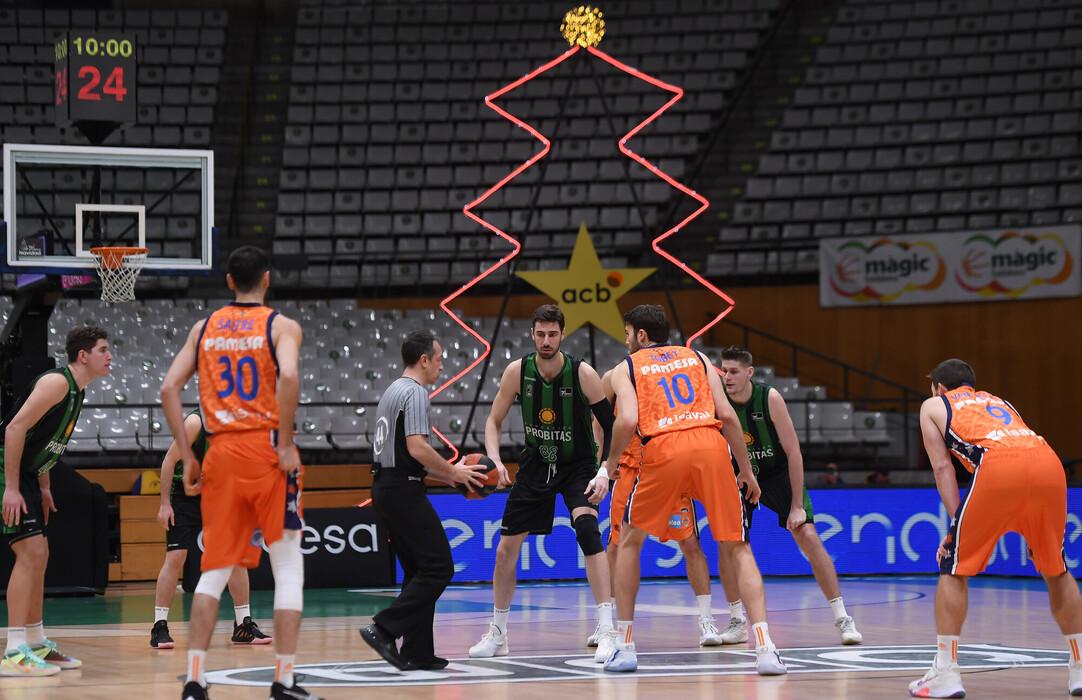 #LigaACB: Il Valencia Basket impone la sua legge a Badalona, battuto il Joventut