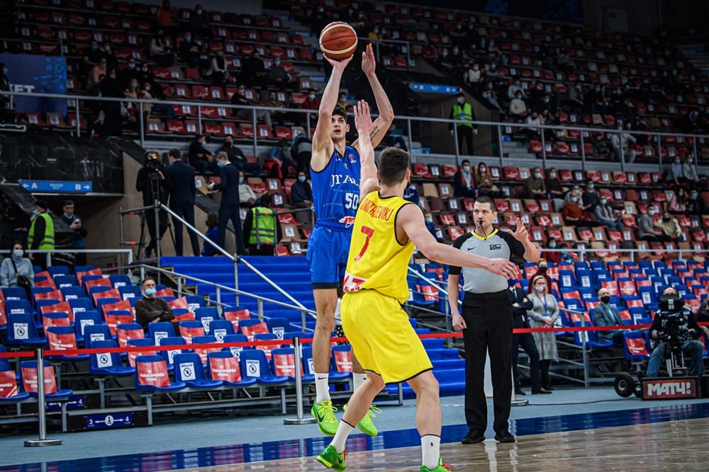 #ItalBasket: Una motivata Macedonia del Nord rimonta e batte l'Italia