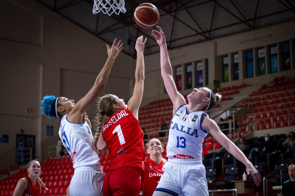 #EuroBasketWomen: Un'Italia superiore surclassa la Danimarca e sogna gli Europei