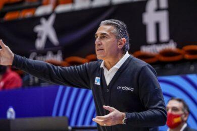 Sergio Scariolo, Valencia, 2020-11-30