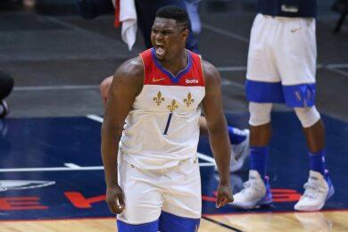 Zion Williamson, New Orleans, 2021-02-21