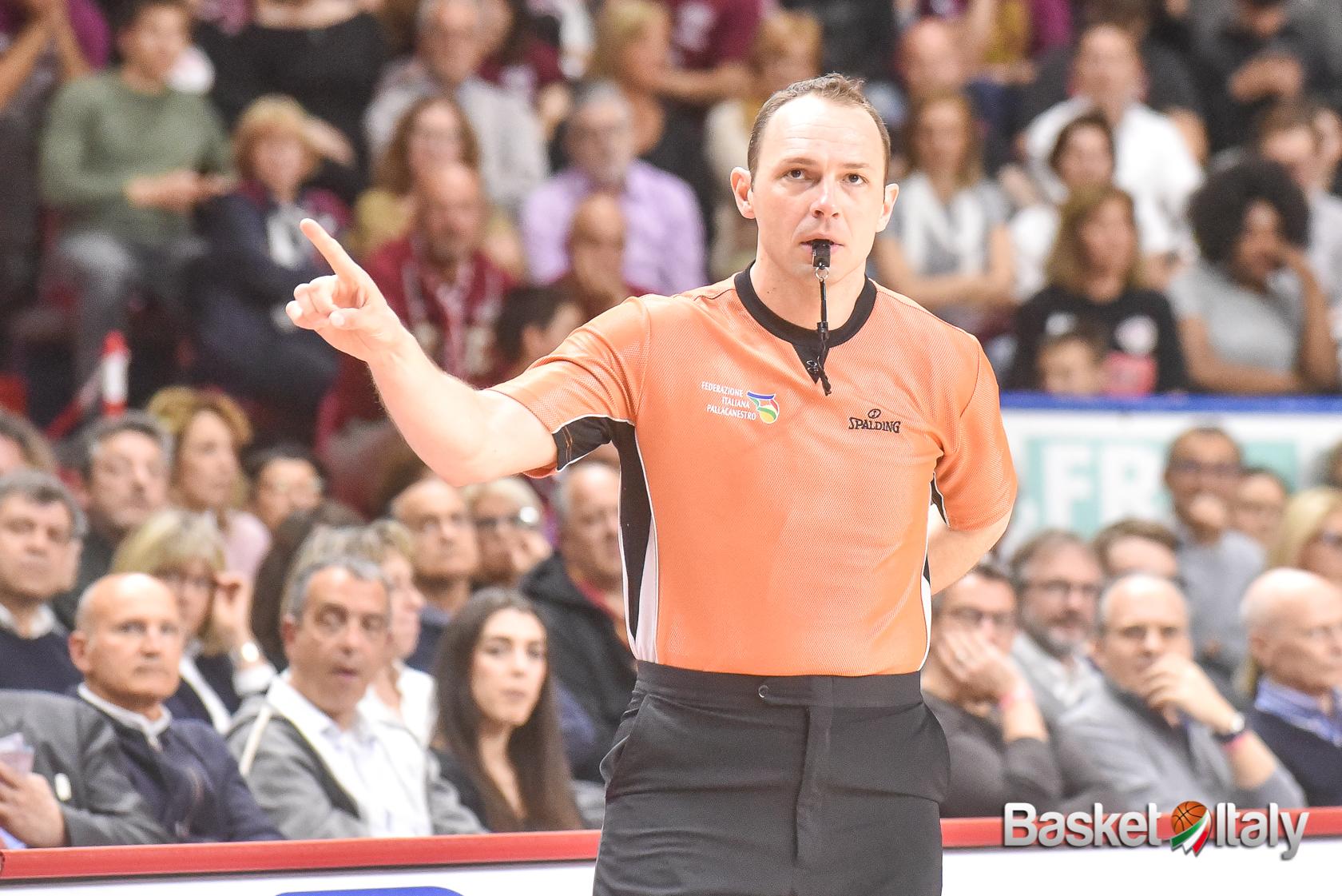 E' Manuel Mazzoni l'arbitro designato per i Giochi Olimpici di Tokyo