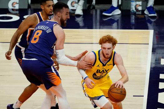 Per Nico Mannion prima da titolare in NBA, Golden State ko a Phoenix