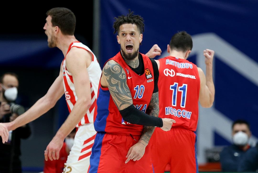 #Euroleague: Il CSKA è ai Playoff; battuto lo Zenit con un gran Daniel Hackett