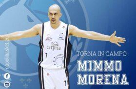 Domenico Mimmo Morena Napoli Basket