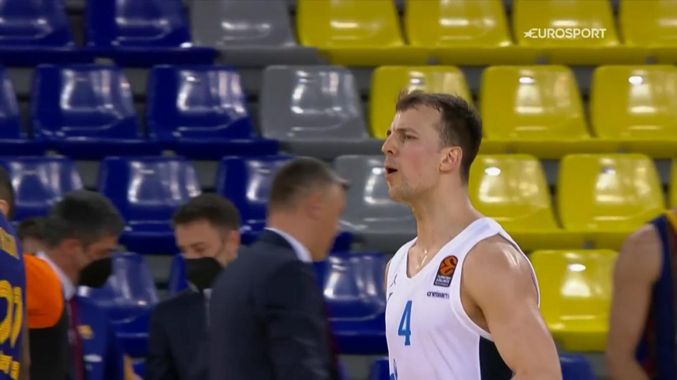 "EuroLeague – Kevin Pangos ""gela"" il Palau Blaugrana, gara-1 è dello Zenit"