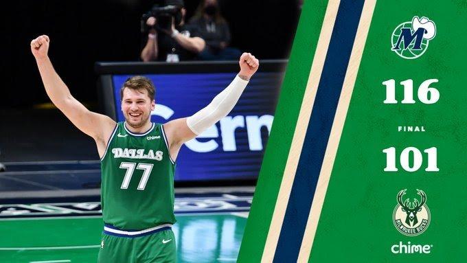 NBA: I Mavs di Melli passeggiano sui Bucks, ultimo quarto stellare per Porginzis e Doncic!