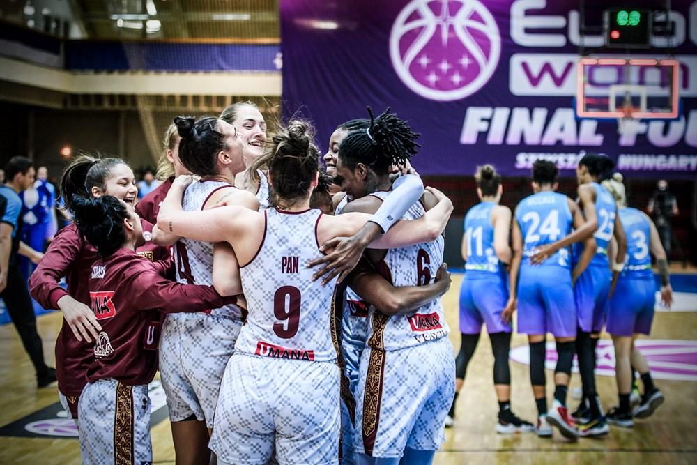 EuroCup Women – Szekszard piegato, Reyer Venezia in finale!