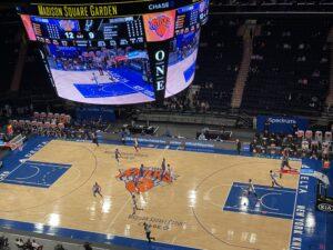 Knicks vs Spurs, Madison Square Garden, 13 Maggio 2021