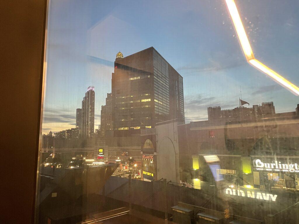 Panoramica di Downtown Brooklyn vista dal Barclays Center