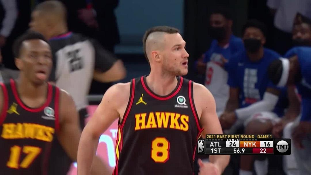 #NBAPlayoff: Gli Atlanta Hawks di Gallinari partono col botto: battuti i New York Knicks